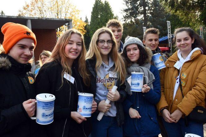 Ponad 400 wolontariuszy kwestowało na rzecz hospicjum w Koszalinie